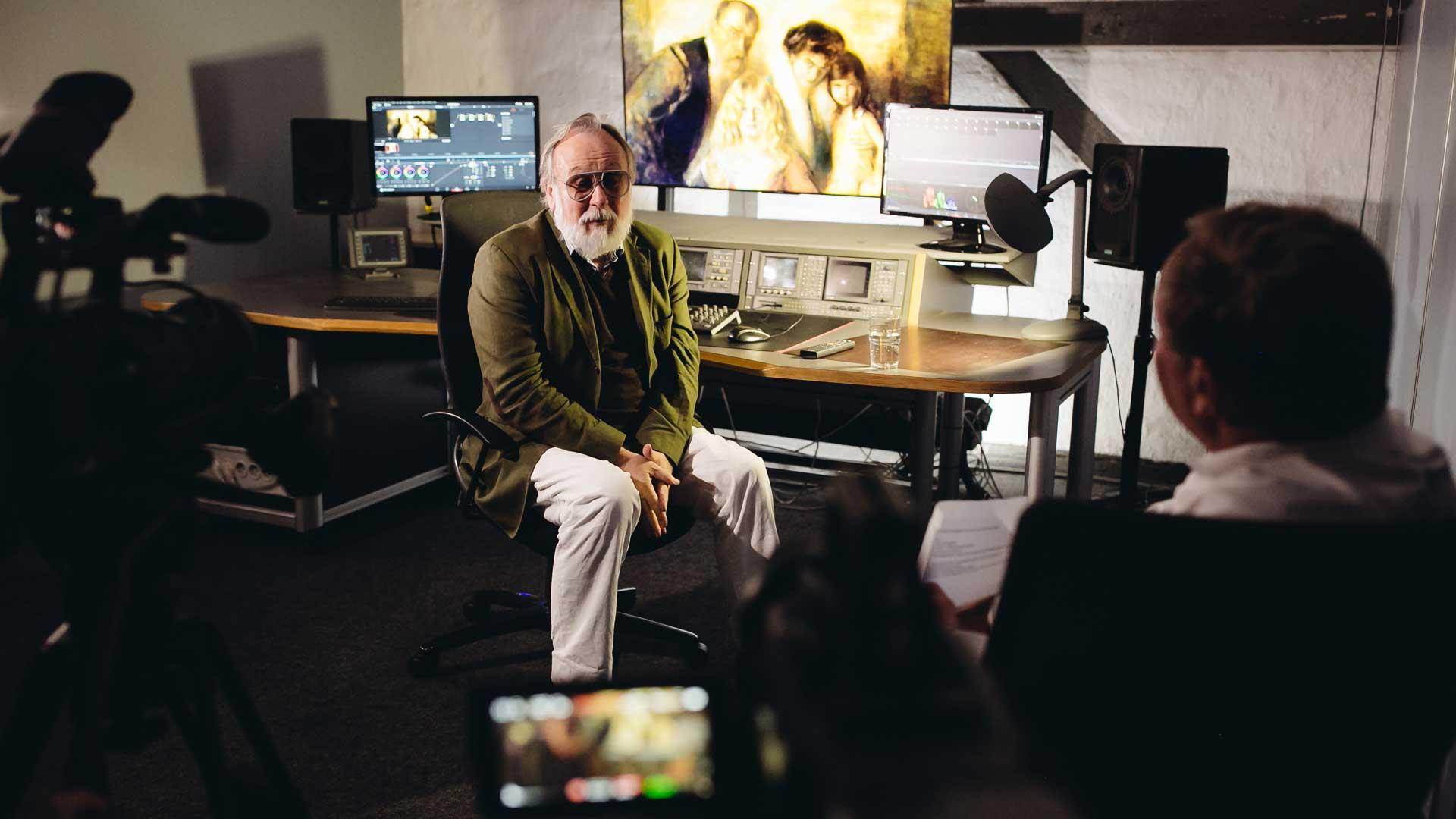 Kamera für Promovideo: 1000 Meisterwerke präsentiert von Friedrich Liechtenstein