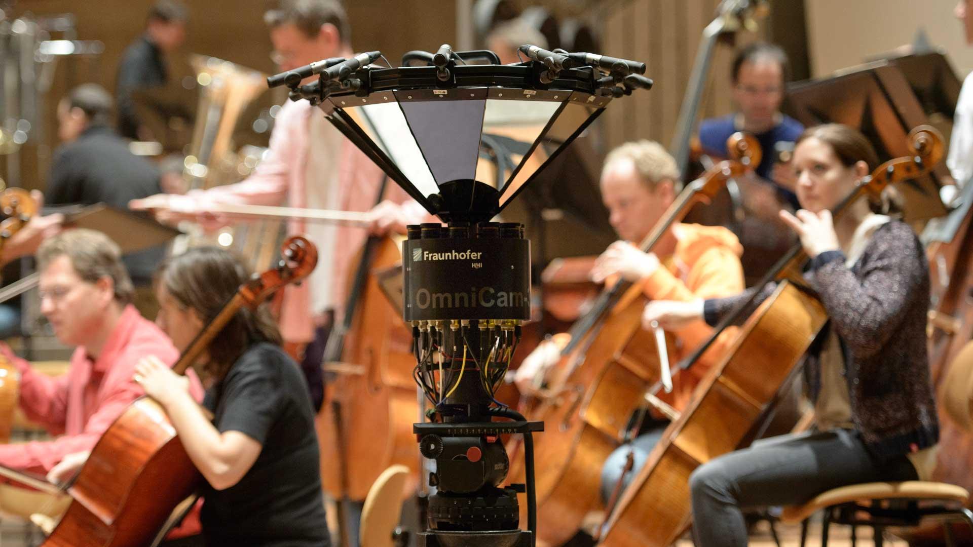 Kamera für Eventfilm: 360-Grad-Figaro