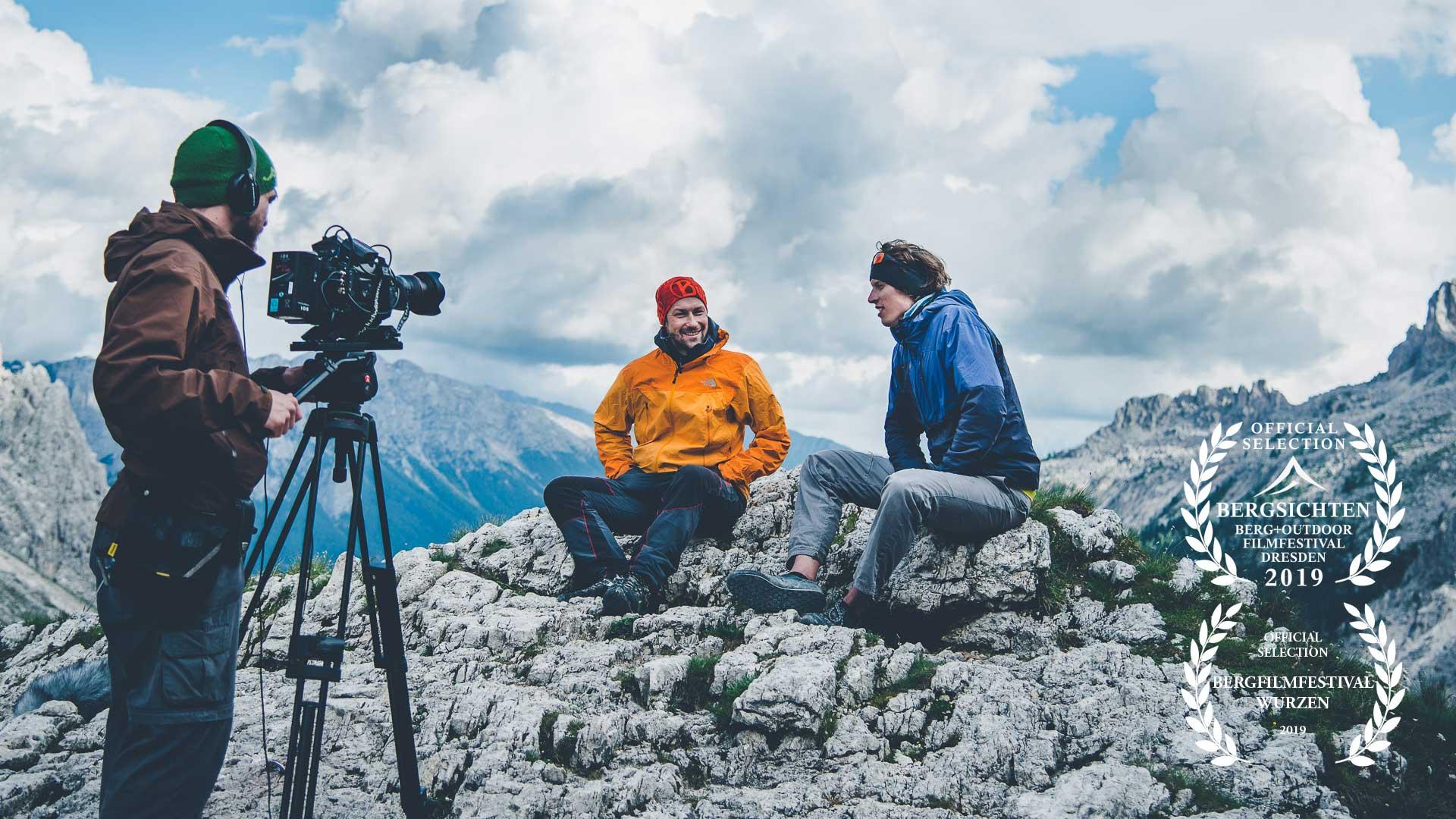 Einarmige Banditen im Felsen: ein Kletterfilm mit Handicap