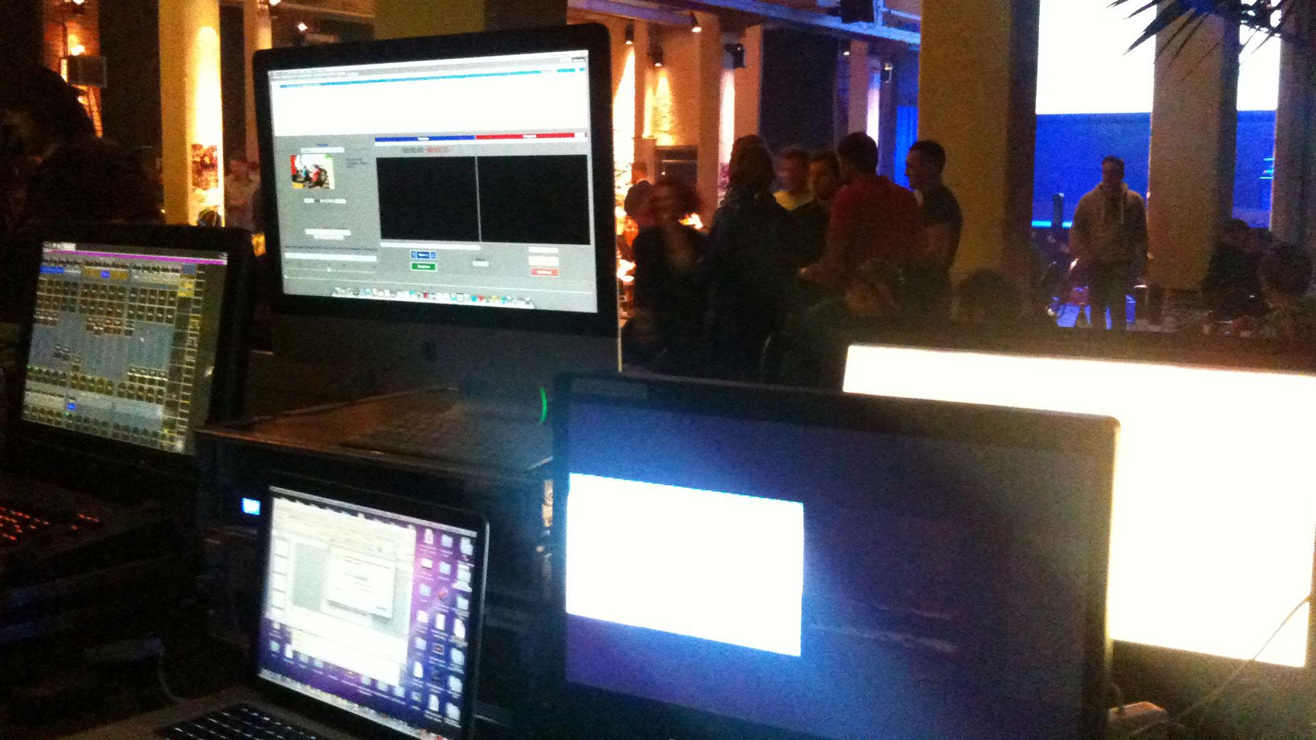 Videotechnik bei der Firmenfeier von IFA Rotorion